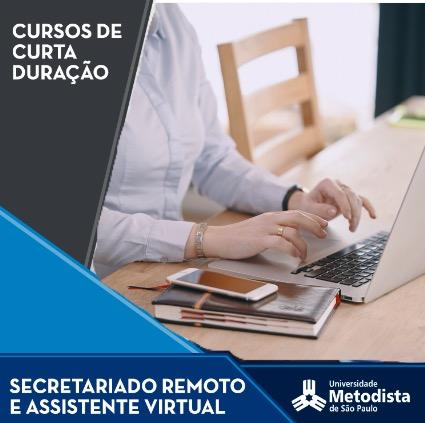 secretariado remoto metodista 1 - [Curso Presencial] Secretariado Remoto e Assistente Virtual   Universidade Metodista