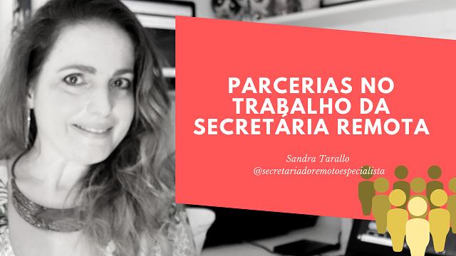 parcerias - Parcerias para os profissionais do Secretariado Remoto
