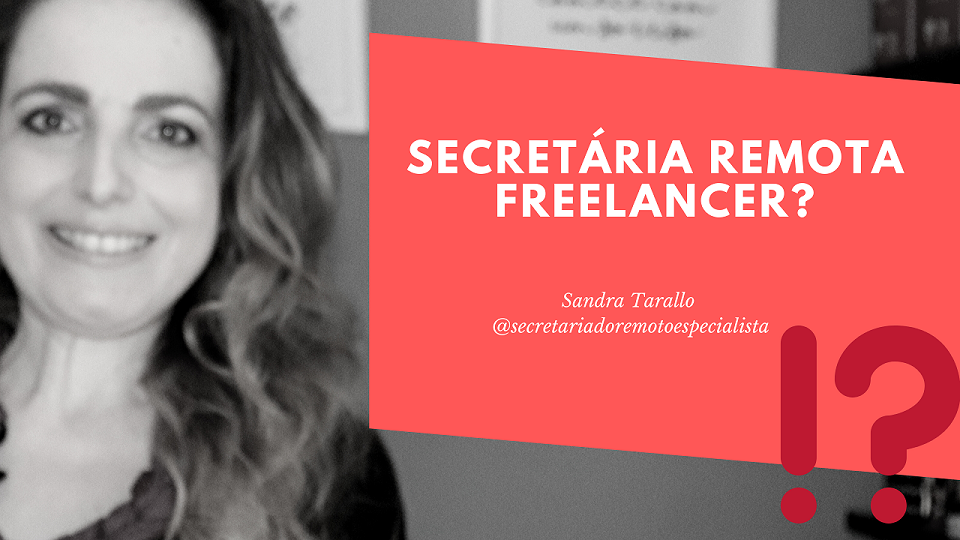 Secretariado Remoto Freelancer?