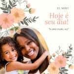 Post Colorido de Feriado das Mães 150x150 - Frase Post