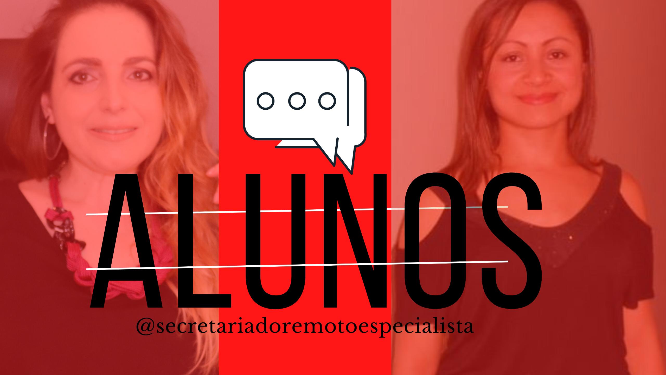 Alunos2 - Live com a Aluna Cristiane Faqueri - Secretariado Remoto Especialista 