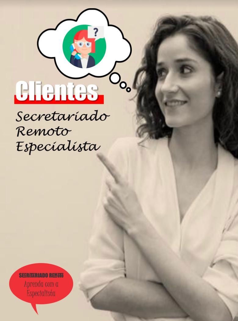 Secretariado Remoto Cliente - Semana Mini Aula Secretariado Remoto - 4 Clientes