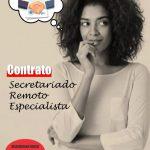 Semana Mini Aula Secretariado Remoto - 3 Contrato de Prestação de Serviço