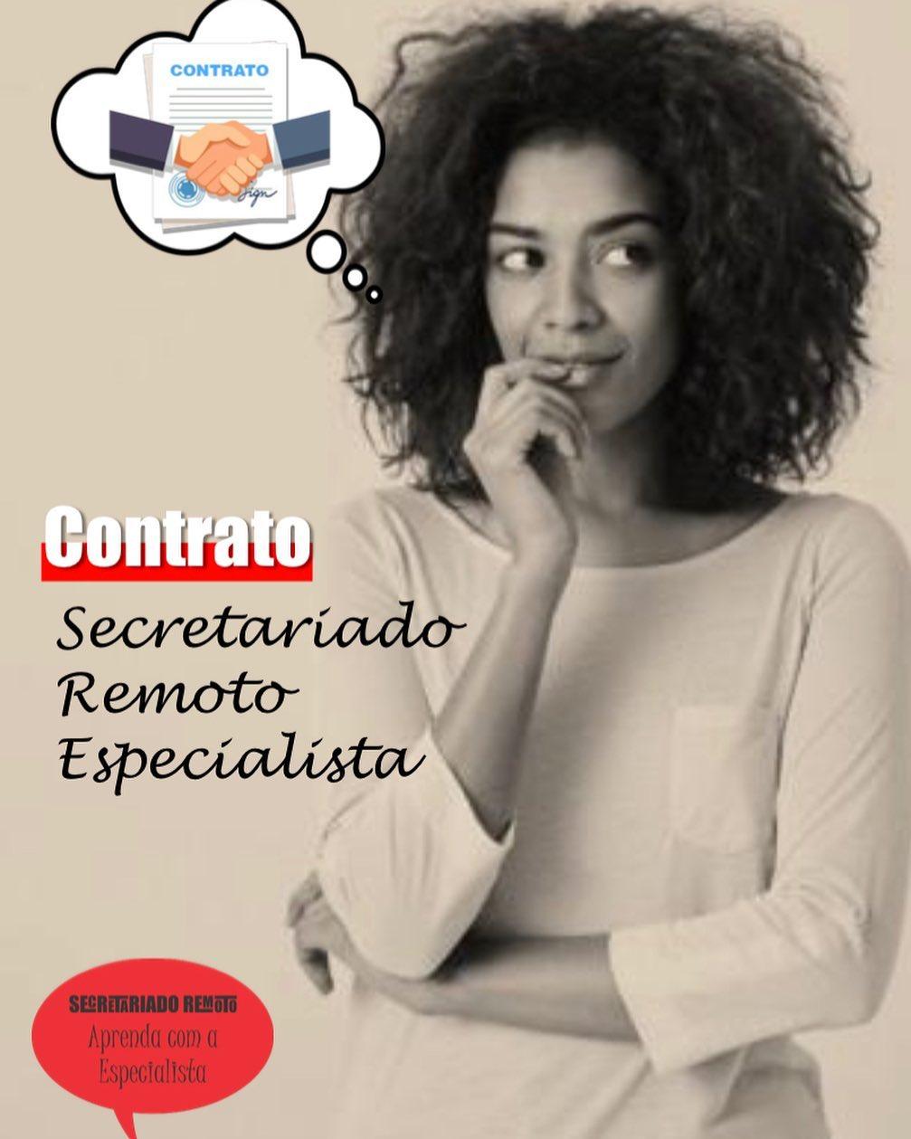 contrato - Semana Mini Aula Secretariado Remoto - 3 Contrato de Prestação de Serviço
