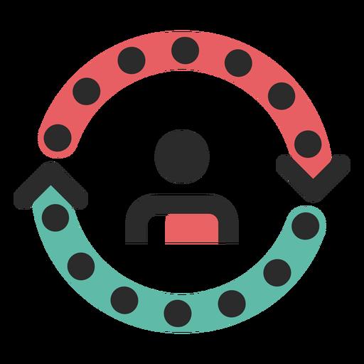 a331015c83fc77258e6ead07d8215371 iacute cone de tra ccedil o colorido do ciclo do cliente by vexels - Home