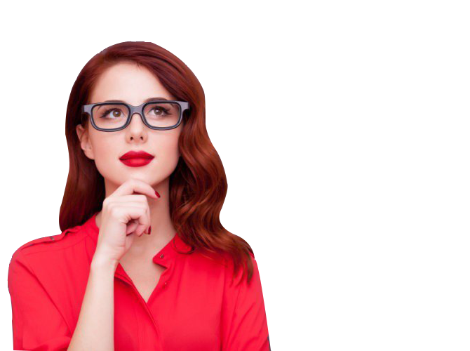 Mujer pensando - Curso 2.0