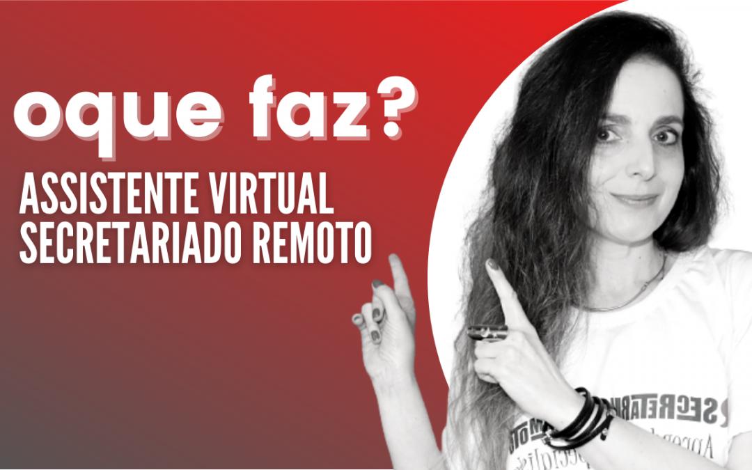Assistente Virtual e Secretária Remota: O que Faz?